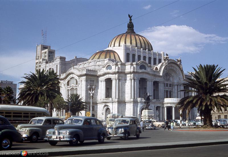Palacio de Bellas Artes (circa 1953)