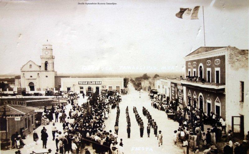 Desfile Septembrino Reynosa Tamaulipas.