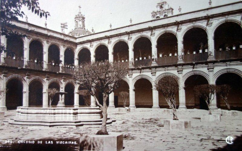 El Colegio de las Vizcainas.