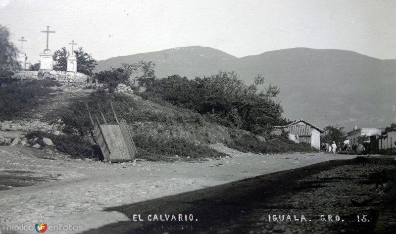El Calvario ( Fechada el dia 12 de Octubre de 1920 )