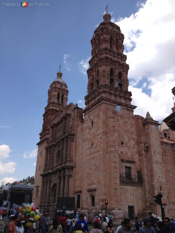 El barroco en su máximo esplendor. Catedral de Zacatecas. Abril/2017