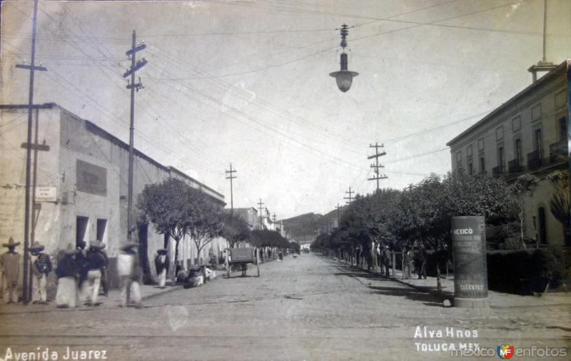 Avenida Juarez.