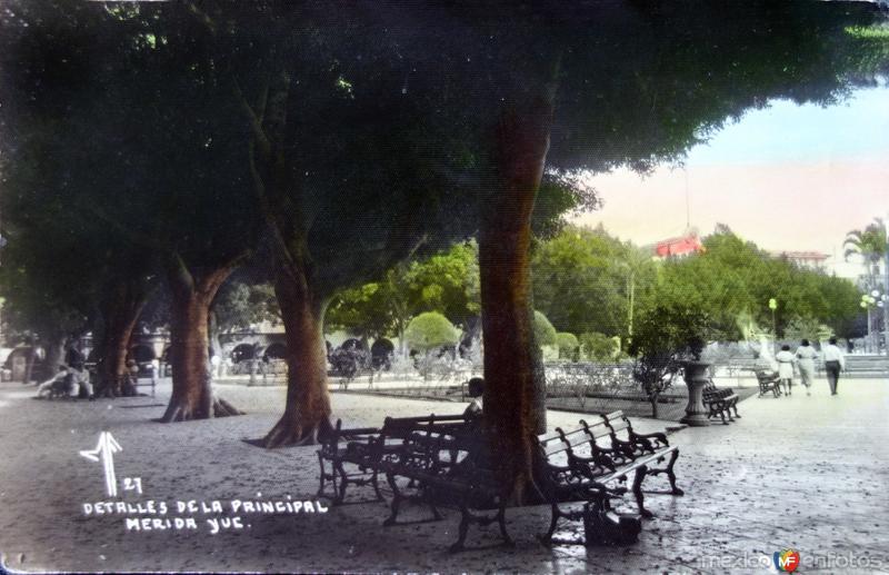 Detalles de la Plaza Principal.