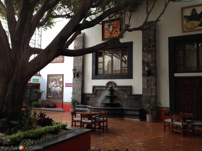 Vestíbulo del Hotel Misión San Gil. Abril/2017