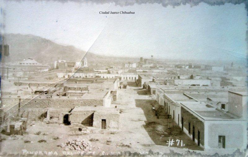 Panorama de Ciudad Juarez Chihuahua.