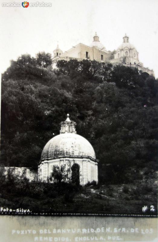 Pocito de el Santuario de Nuestra Senora de Los Remedios.
