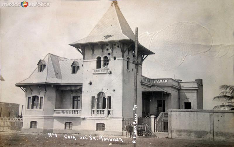 Casa del Sr. Abaunza