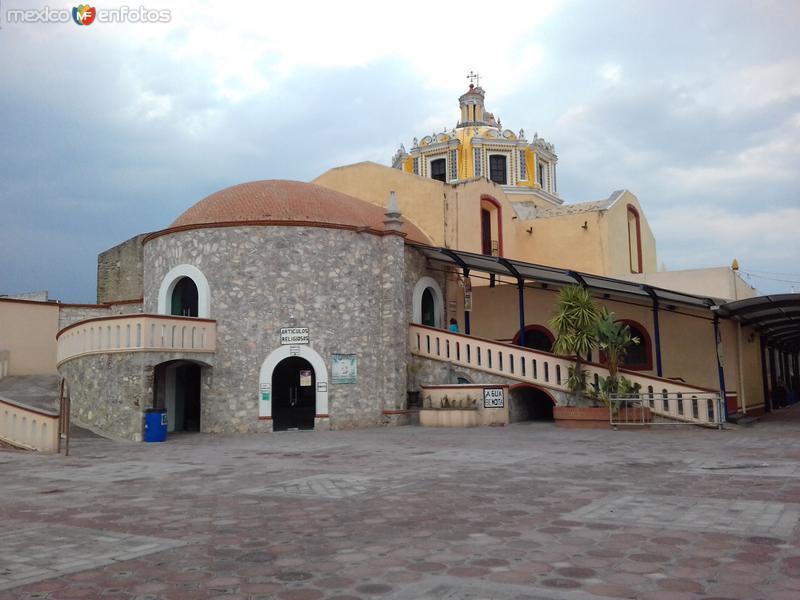 Vista posterior del Santuario del Niño Doctor. Abril/2017