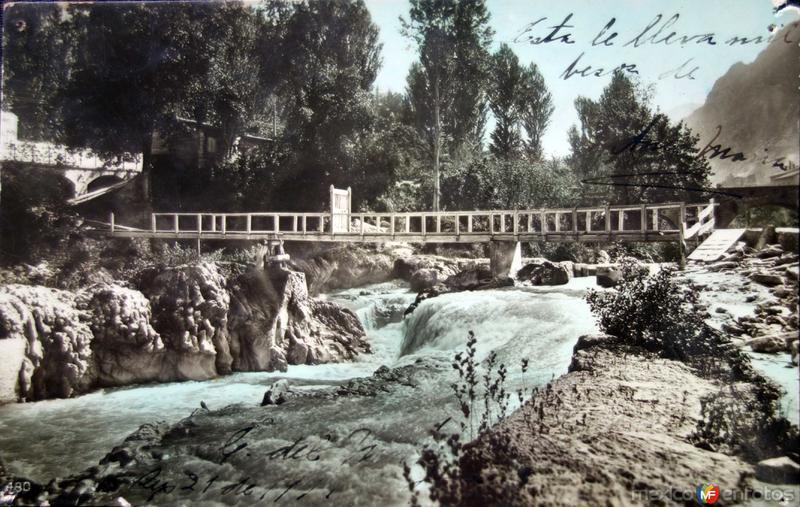 Puente ( Fechada el 21 de Septiembre de 1911 ).