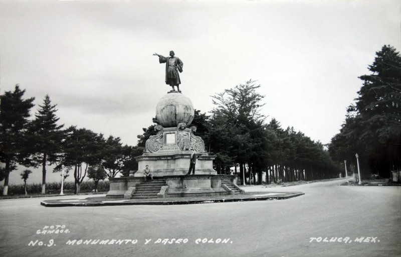 Monumento y paseo Colon.