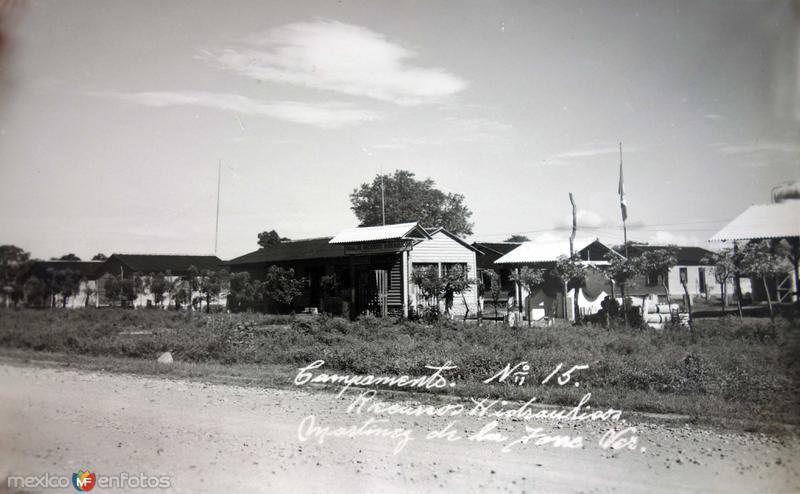 Campamento de Recursos Hidraulicos.