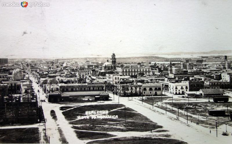Panorama ( Circulada el 14 de Octubre de 1920 ).