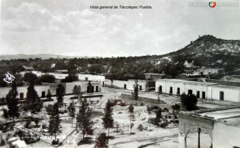 Vista general de Tlacotepec Puebla.