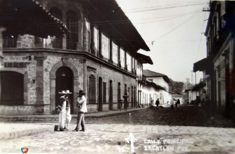 Vida cotidiana en Calle principal.