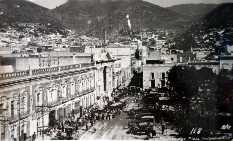 La Plaza Independencia.