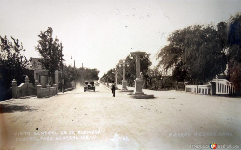 Vista general de la Alameda.