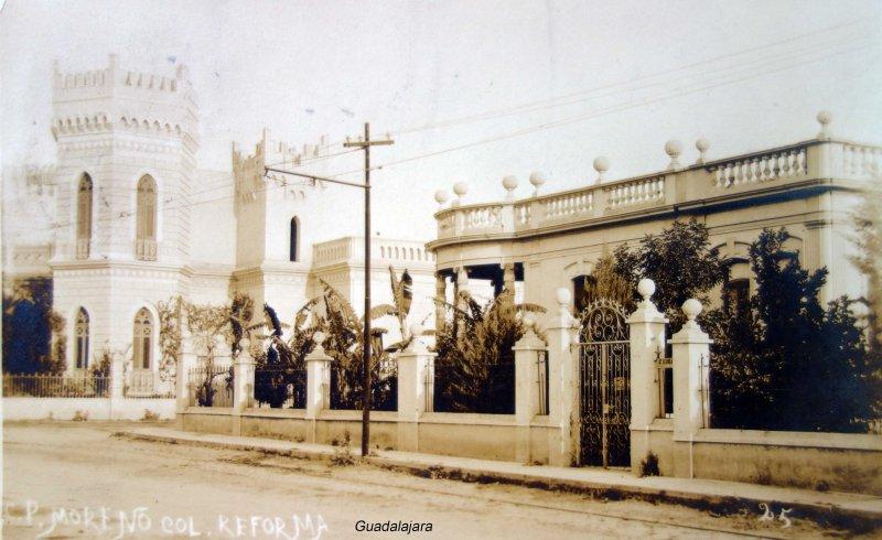 Colonia Reforma circulada el 13 de Agosto de 1912
