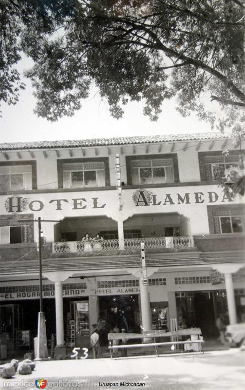 Hotel Alameda Uruapan Michoacan.
