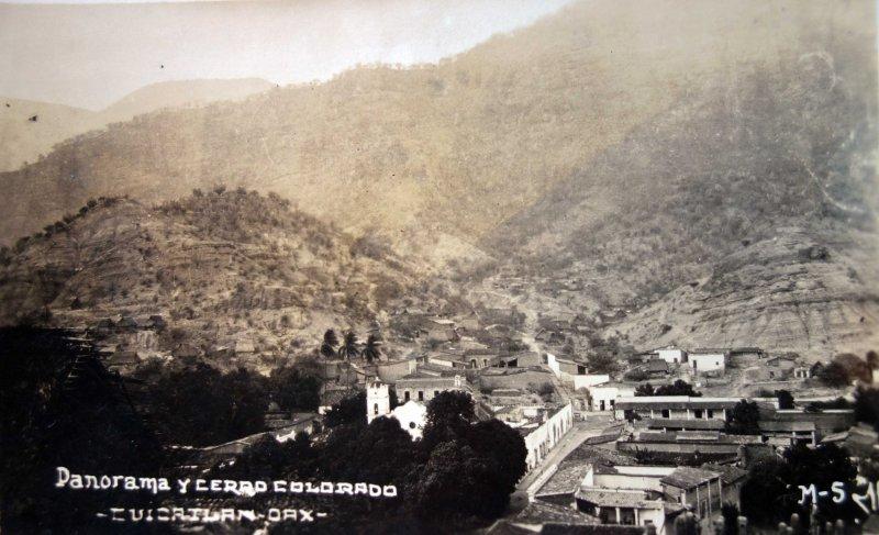 Panorama y cerro colorado.