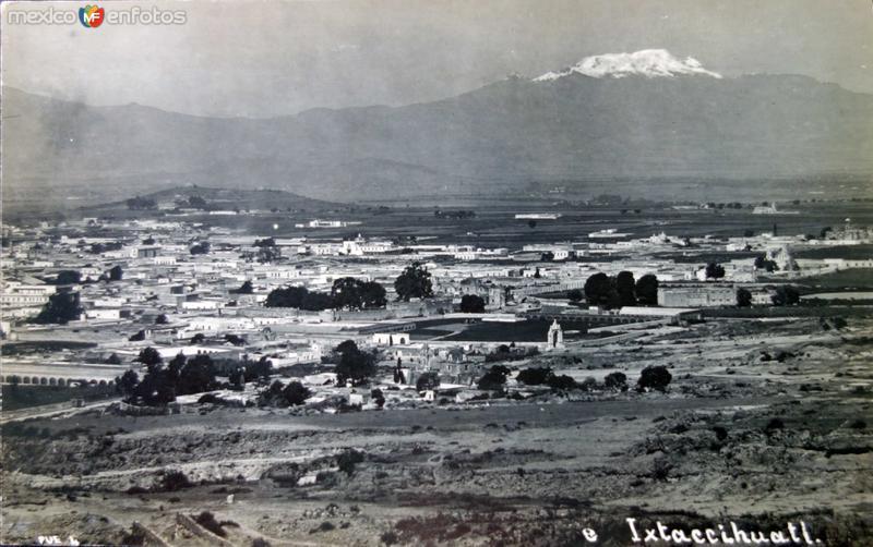 Ixtaccihuatl.