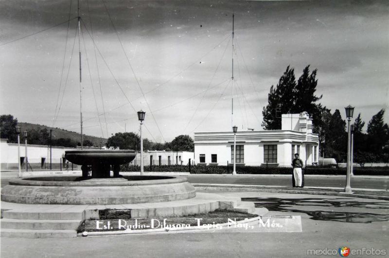 Estacion Radio-difusora.