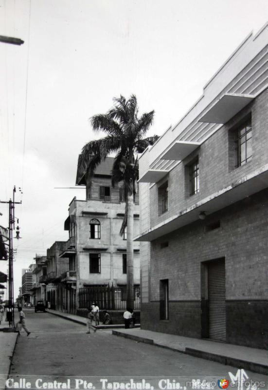 Calle Central Poniente.
