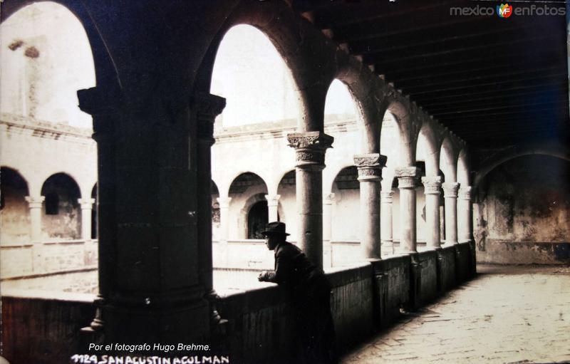 El Convento Por el fotografo Hugo Brehme.