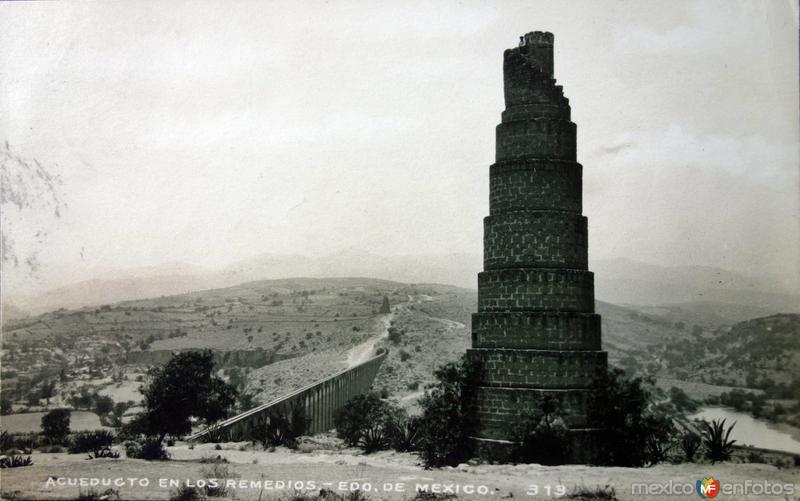 Acueducto ( Circulada el 23de marzo de 1936 ).