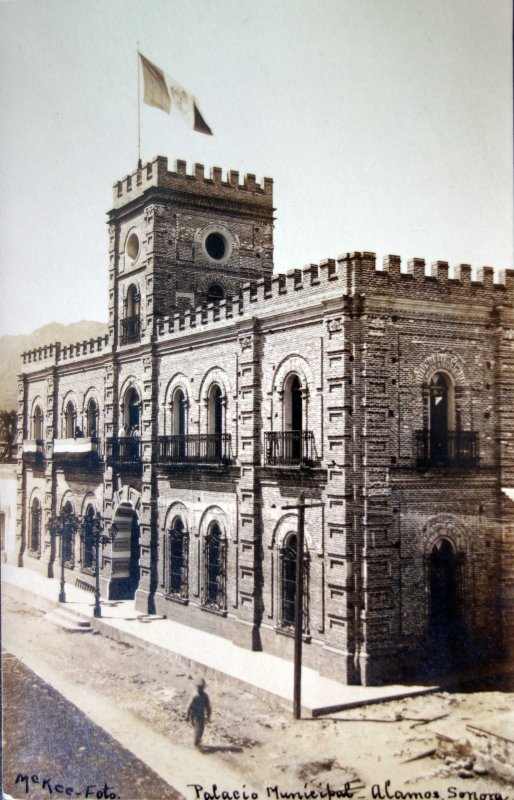 Palacio Municipal ( Circulada el 20 de Septiembre de 1907 ).