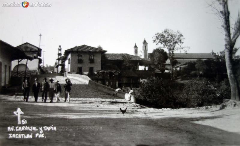 Avenida Carbajal Y Tapia.