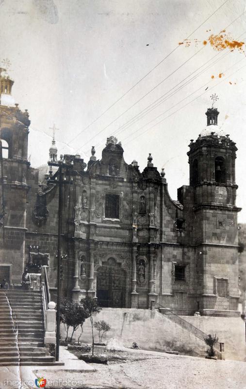 Templo de Santo Domingo, en la Cd. de Zacatecas.