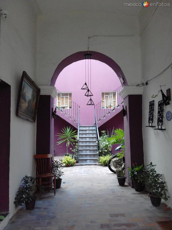 Arquitectura del Centro Histórico de Puebla. Julio/2017
