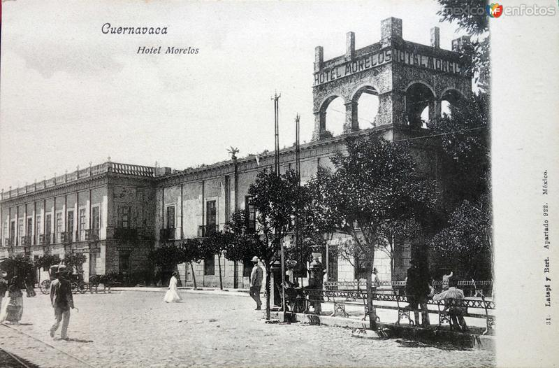 Hotel Morelos.