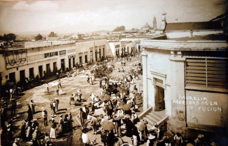 Mercado callejerode La Constitucion.