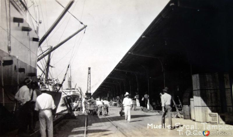 El Muelle fiscal.