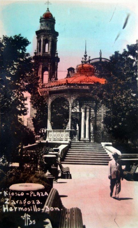 La Plaza Zaragoza.