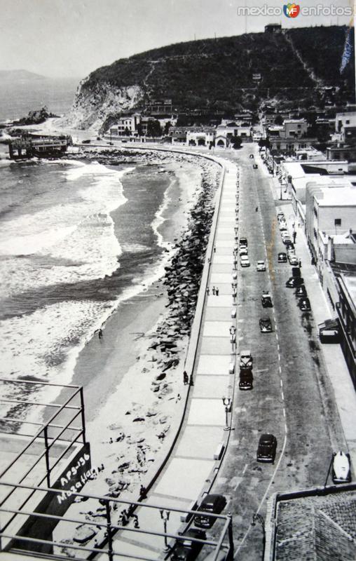 La costera ( Fechada el 26 de Novirmbre de 1953 ).