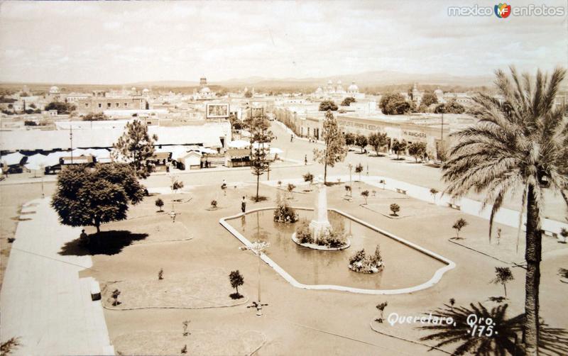 Fuente y Plaza.