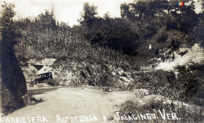 Carretera Altotonga a Jalacingo