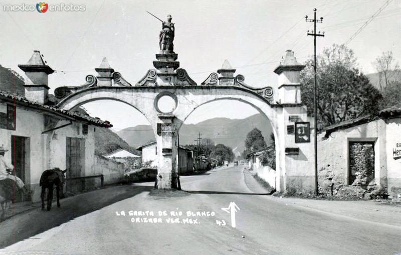 Garita de Río Blanco