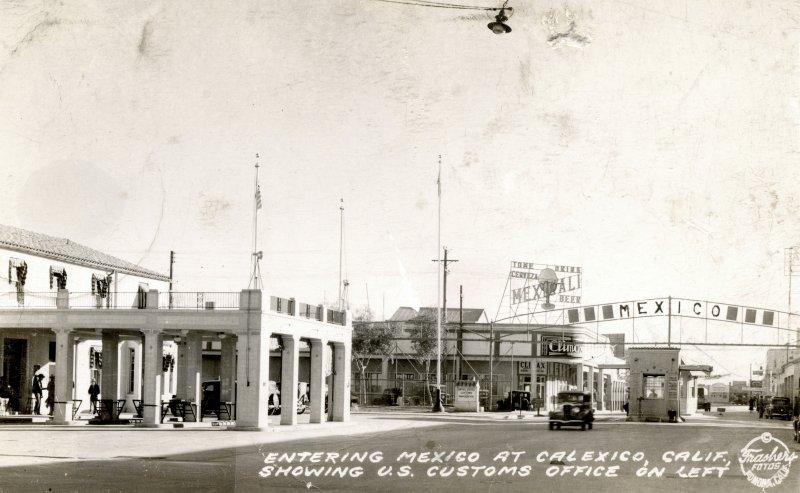 Garita fronteriza Mexicali-Calexico