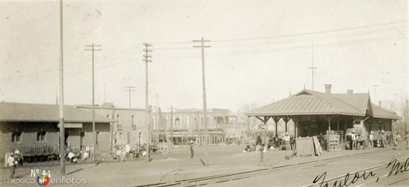 Estación del Ferrocarril (1907)
