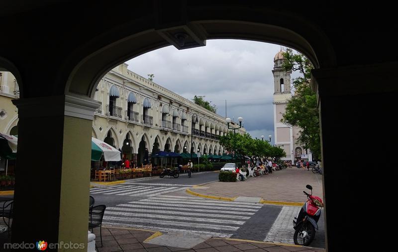 Vista desde los portales