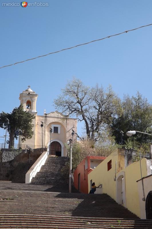 Escalinata y Templo del Señor del Vecino. Diciembre/2017