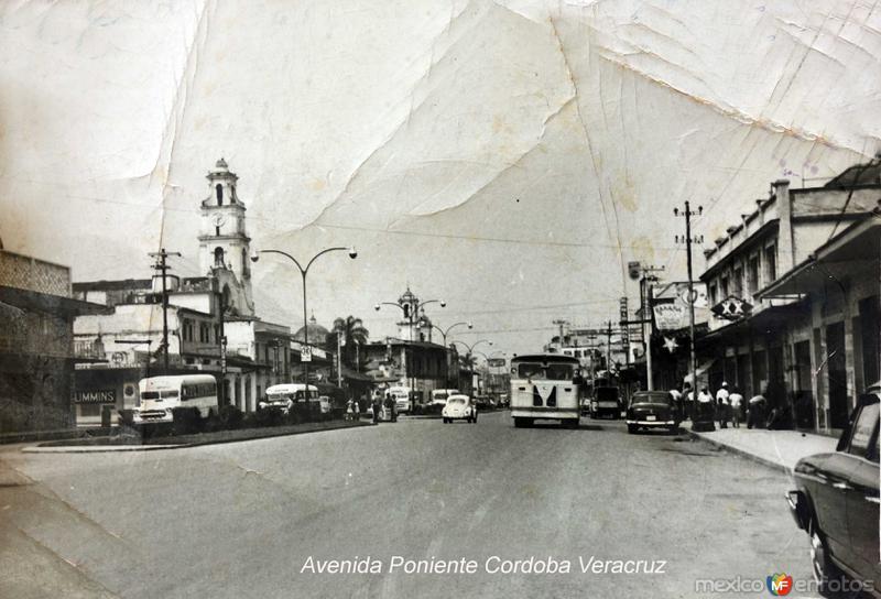 Avenida Poniente Orizaba Veracruz.