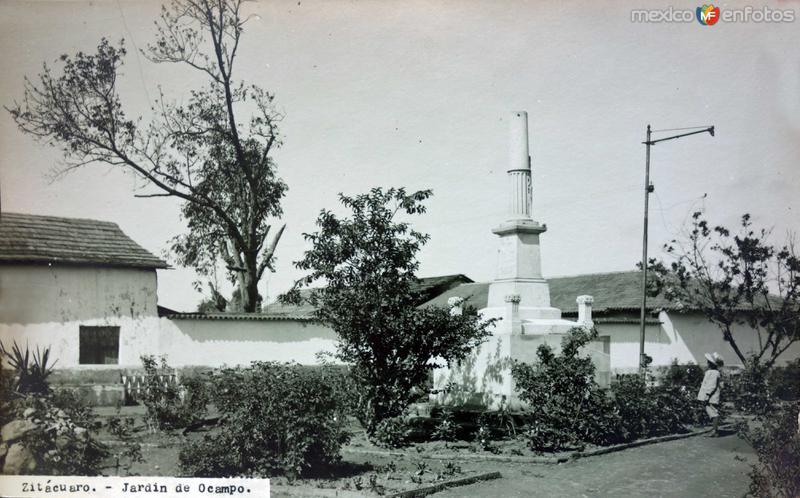 Jardin de Ocampo.