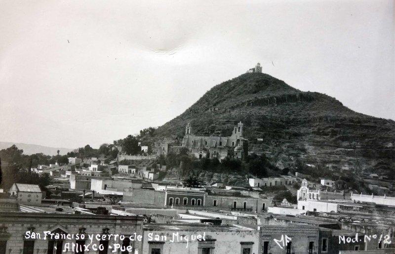 San Francisco y cerro de San Miguel.