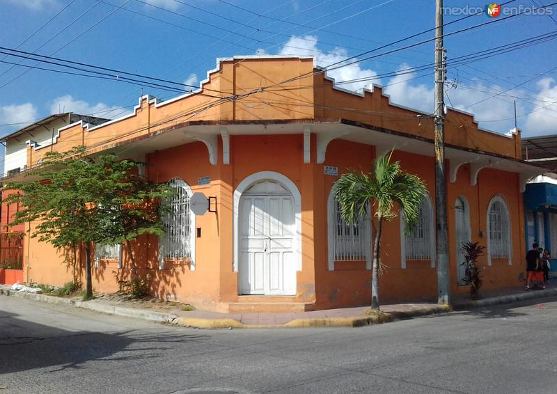 Arquitectura en el centro de Tapachula. Diciembre/2017