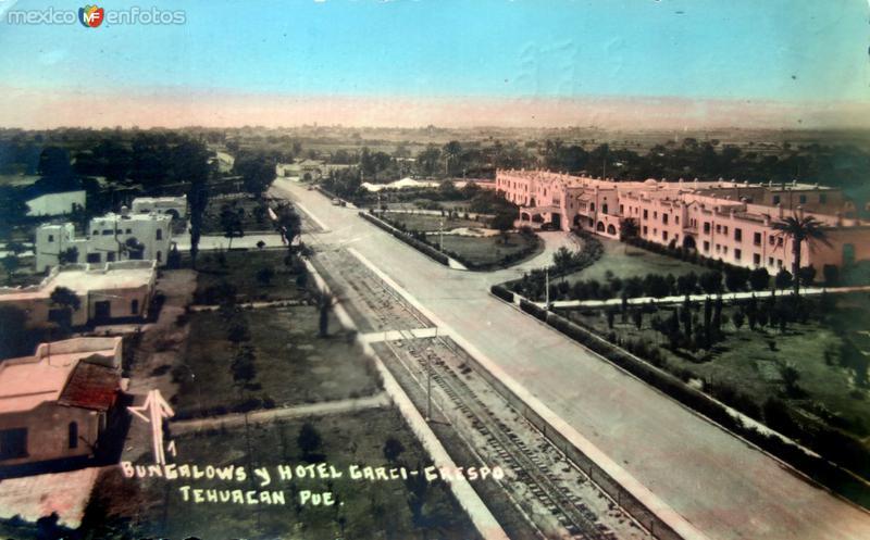 Bungalows & Hotel Garci Crespo fechada en 1944.
