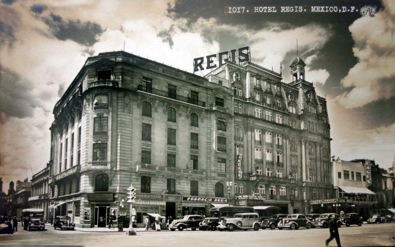 El Hotel Regis.